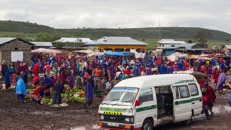 Maasai\'s market, near Arusha