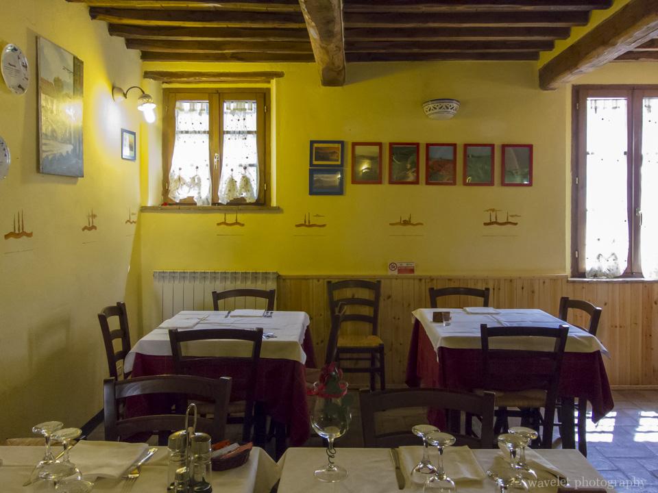 Restaurant La Locanda di Fonte Alla Vena, San Quirico D'orcia, Southern Tuscany