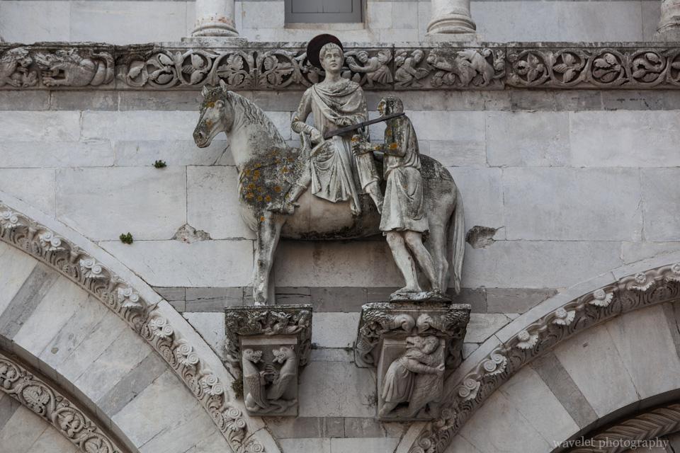 Sculpture on Duomo di San Martino, Lucca