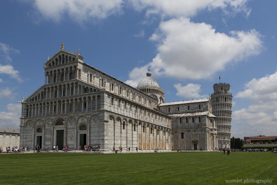 Duomo and the Leaning Tower, Pisa