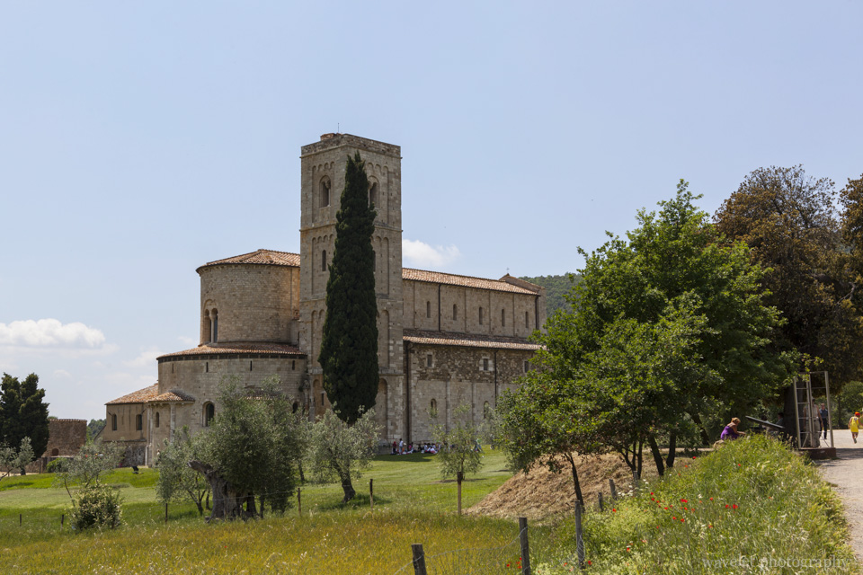 Sant'Antimo Abbey, Southern Tuscany