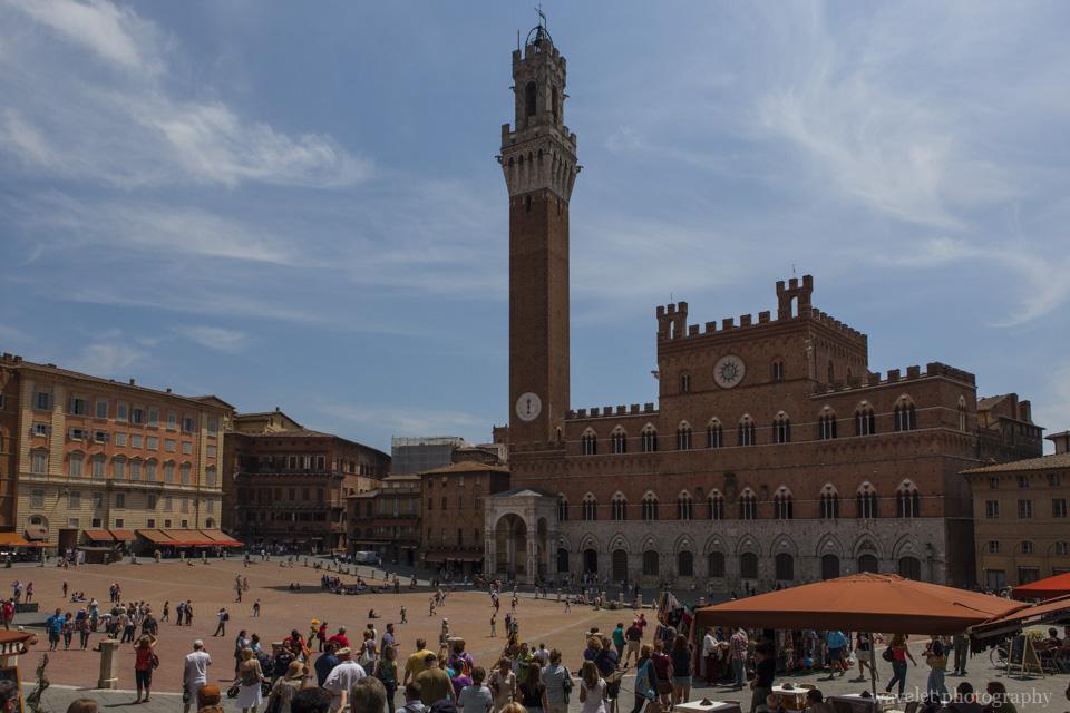 Torre del Mangia and Palazzo Pubblico, Siena