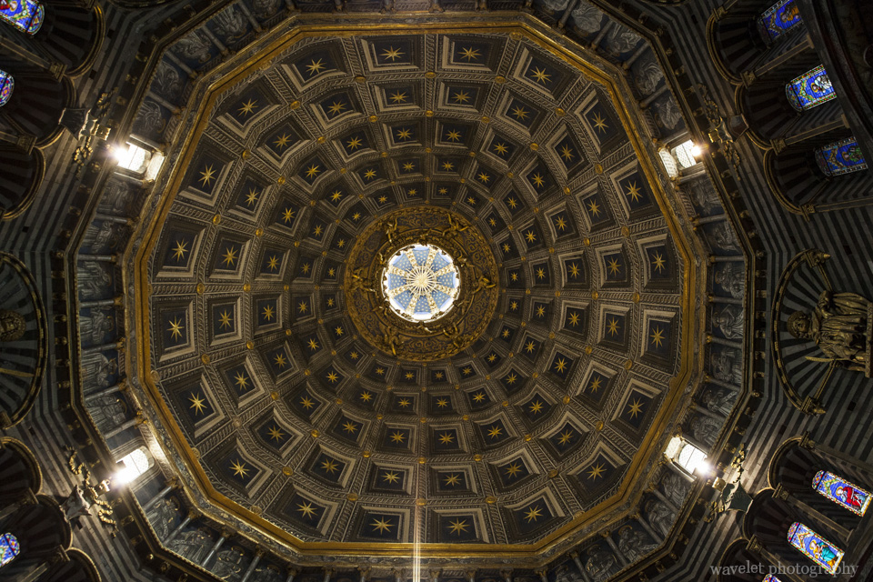 Dome of the duomo, Siena