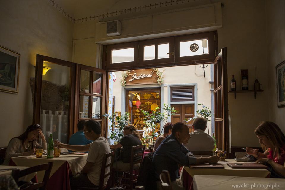 A restaurant, Florence