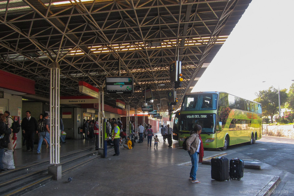 Pajaritos bus station, Santiago