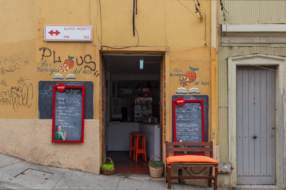 A local restaurant where we had the lunch, Valparaiso