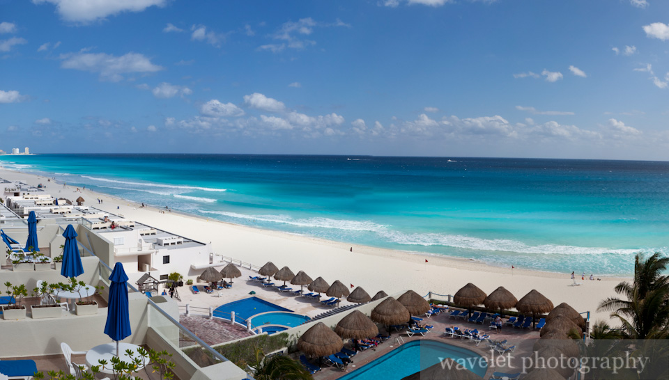 Coast of Caribbean Sea, Cancún Hotel Zone