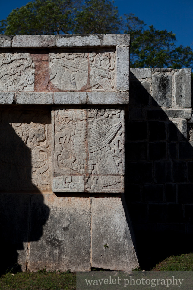 Stone Carving, Chichen Itza