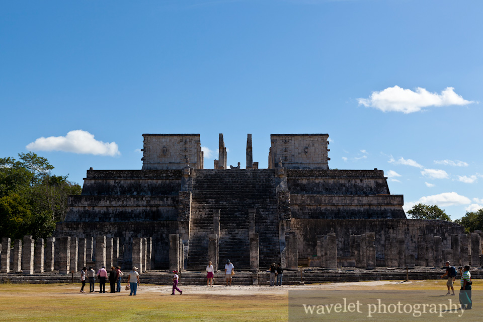 Temple of the Warriors, Chichen Itza