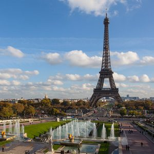 Paris – LV Foundation and The Eiffel Tower